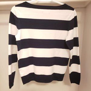 Tommy Hilfiger Sweaters - Tommy Hilfiger Long sleeves T-Shirt blue and white